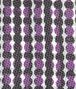 BOTTEGA VENETA BLACK DARK PURPLE COTTON SILK TIE Tie U ap