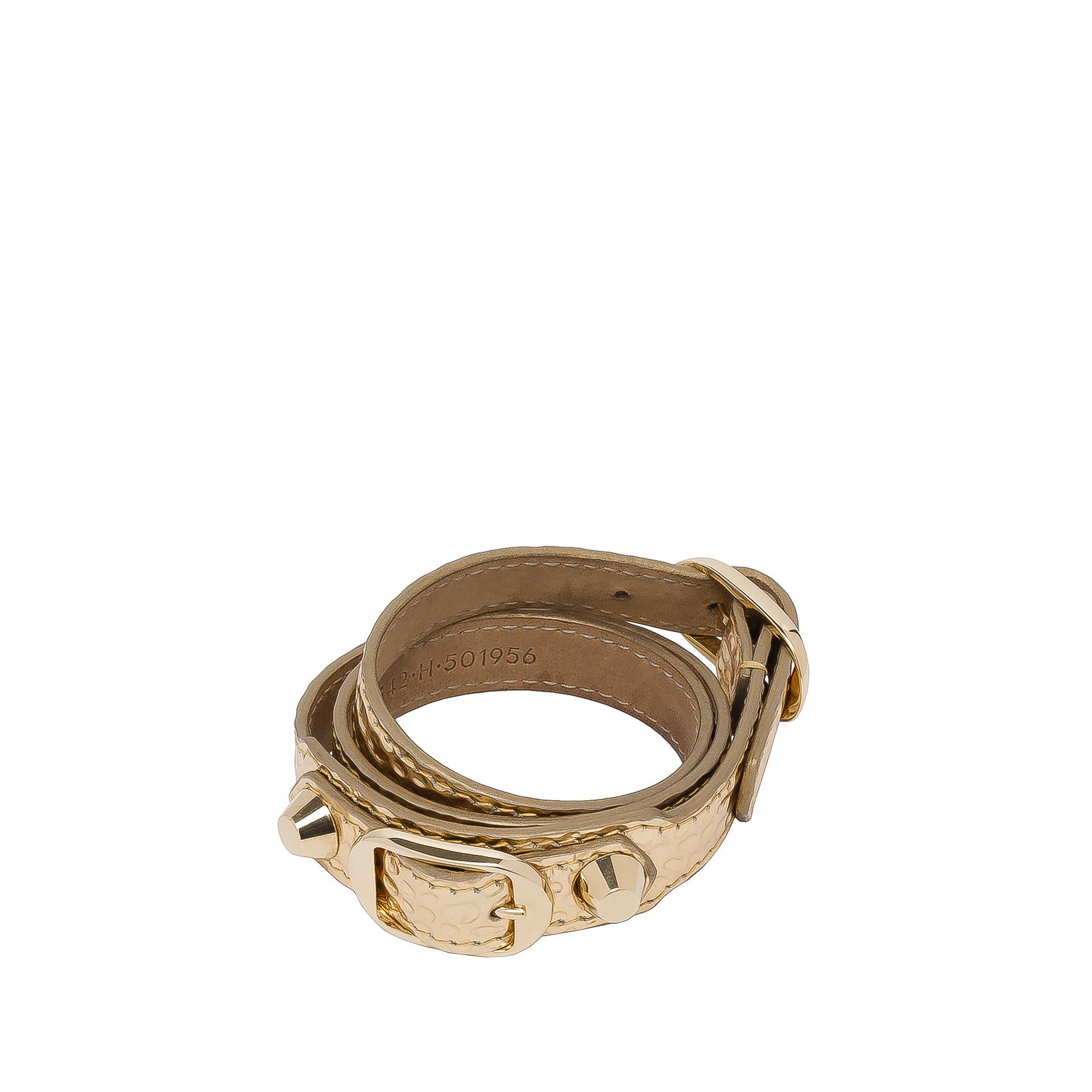 BALENCIAGA Balenciaga Classic Bracelet Triple Tour Valentine's Day  Bracelet D f