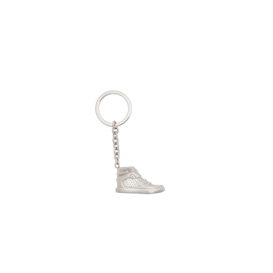 BALENCIAGA Balenciaga Silver Sneaker Keyring Clasp Keyring D f