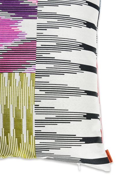 MISSONI HOME PATCH COUSSIN Ivoire E - Devant