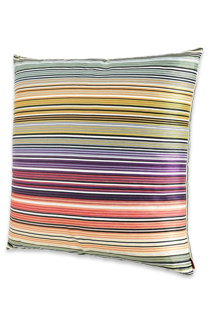 MISSONI HOME 24x24 in. Cushion Green E - Back