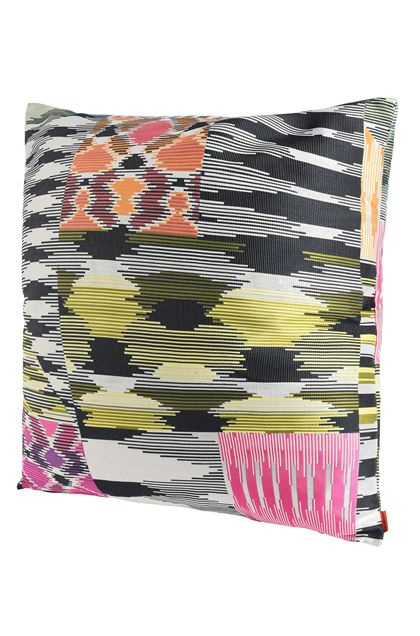 MISSONI HOME PATCH CUSHION Ivory E - Back