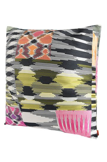 MISSONI HOME 16x16 in. Cushion E PATCH CUSHION m