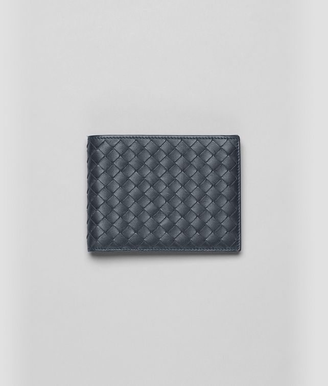 BOTTEGA VENETA Light Tourmaline Intrecciato VN Wallet Bi-fold Wallet U fp
