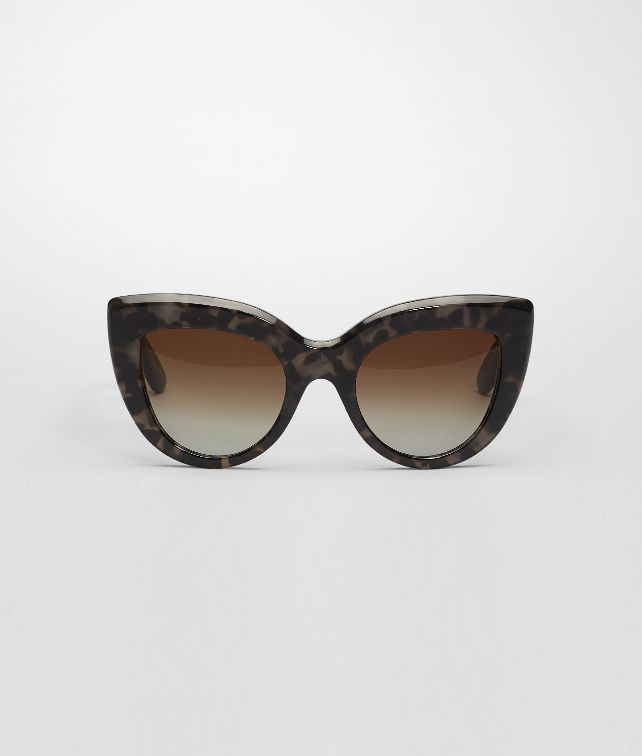 BOTTEGA VENETA Grey Spotted Acetate Eyewear BV 263 Sunglasses D fp