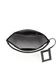 ALEXANDER WANG EXCLUSIVE LARGE CHASTITY MAKE UP POUCH IN CHALK SMALL LEATHER GOOD Adult 8_n_d