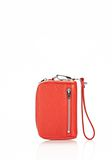 ALEXANDER WANG FUMO LARGE WALLET IN COLA WITH RHODIUM  SMALL LEATHER GOOD Adult 8_n_e