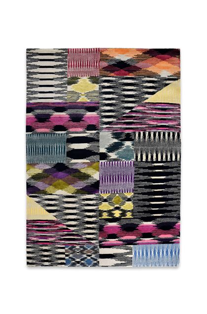 MISSONI HOME PRITZWALK RUG  Black E - Back