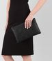 BOTTEGA VENETA LARGE DOCUMENT CASE IN NERO INTRECCIATO NAPPA Other Leather Accessory E lp