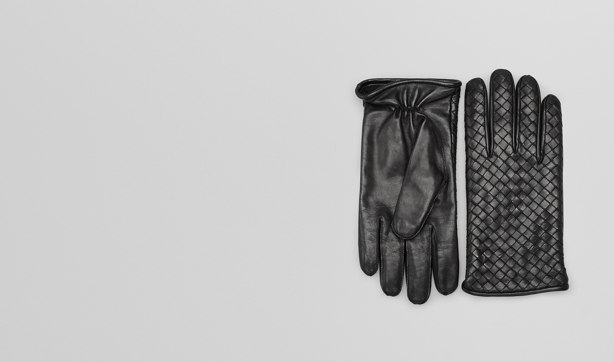 BOTTEGA VENETA Scarf or other U GLOVES IN NERO NAPPA pl