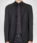 BOTTEGA VENETA TIE IN ANTHRACITE BLACK SILK  Tie U rp
