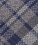 BOTTEGA VENETA Graphite Blue Wool Silk Tie Tie U ap