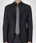 BOTTEGA VENETA Sapphire Black Silk Tie Tie U rp