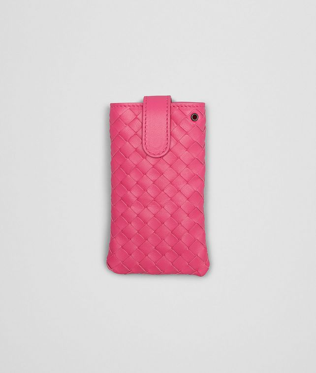 BOTTEGA VENETA ROSA SHOCK INTRECCIATO NAPPA IPHONE CASE Other Leather Accessory E fp