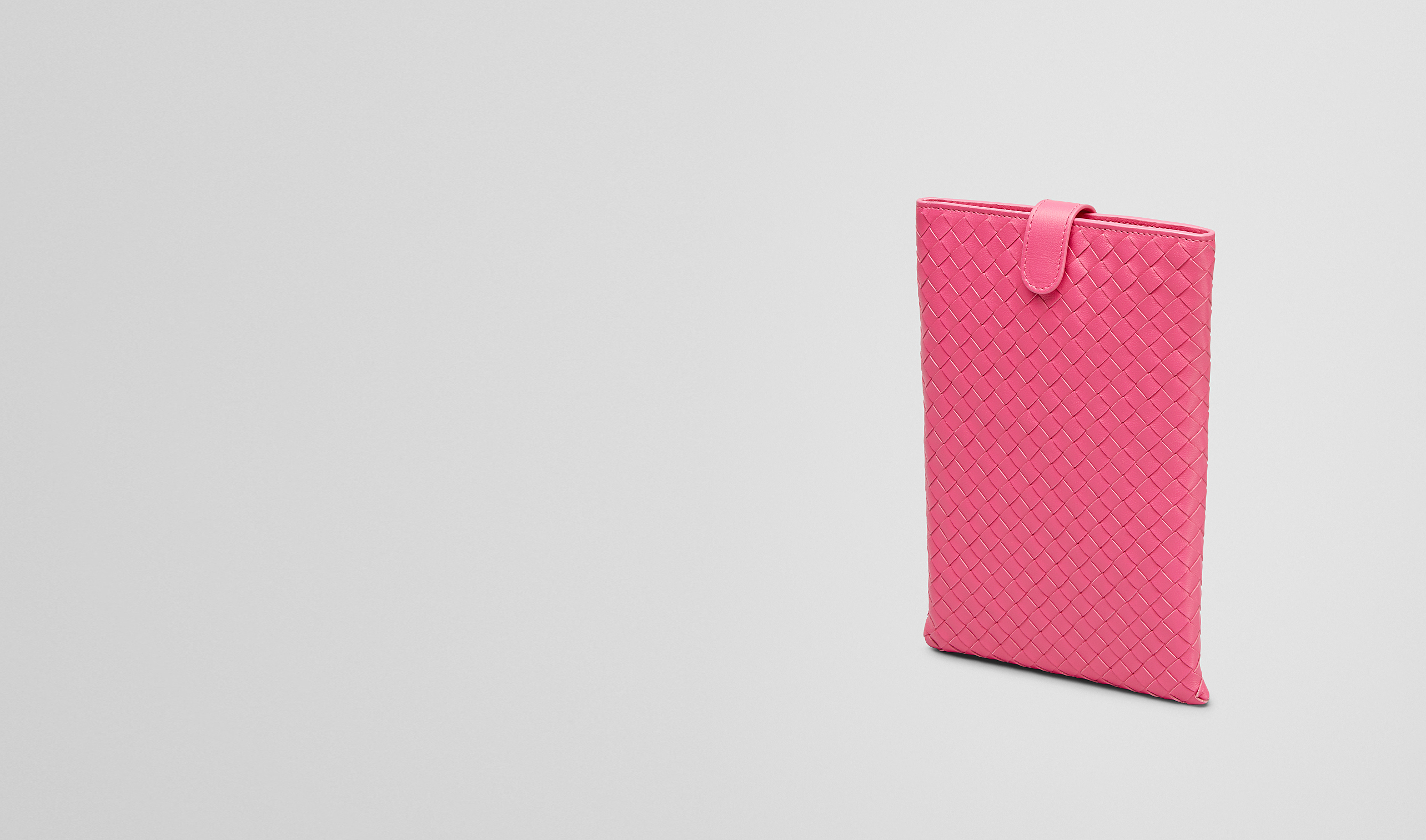BOTTEGA VENETA Other Leather Accessory E ROSA SHOCK INTRECCIATO NAPPA MINI IPAD CASE pl
