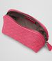 BOTTEGA VENETA BEAUTY CASE ROSA SHOCK IN NAPPA INTRECCIATA Altro accessorio in pelle D ap