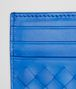 BOTTEGA VENETA SIGNAL BLUE INTRECCIATO VN CARD CASE Card Case or Coin Purse U ap
