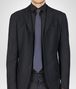 BOTTEGA VENETA SEIDENKRAWATTE SAPPHIRE UND BLACK Krawatte U rp