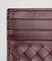 BOTTEGA VENETA AUBERGINE INTRECCIATO VN CARD CASE Card Case or Coin Purse U ap