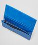 BOTTEGA VENETA CONTINENTAL PORTEMONNAIE AUS VN-LEDER INTRECCIATO SIGNAL BLUE Continental Portemonnaie U ap