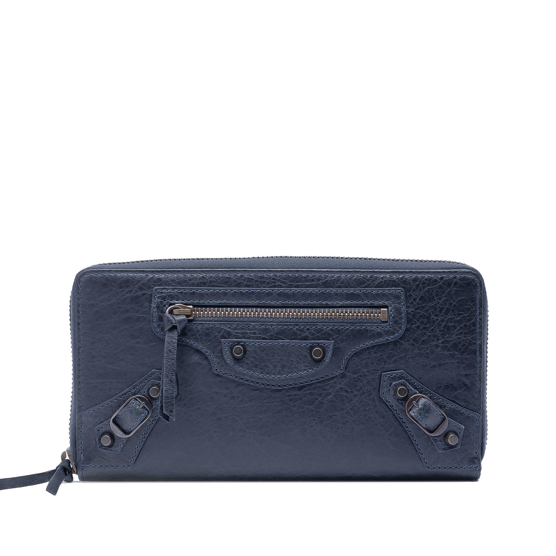 BALENCIAGA Classic Continental Zip Around Classic Continental Wallet D f