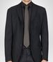 BOTTEGA VENETA Loden Black Silk Tie Tie U rp