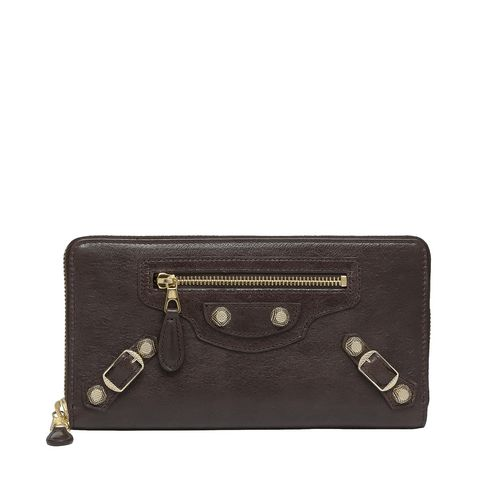 BALENCIAGA Giant Continental Wallet D Giant Gold Continental Zip Around f