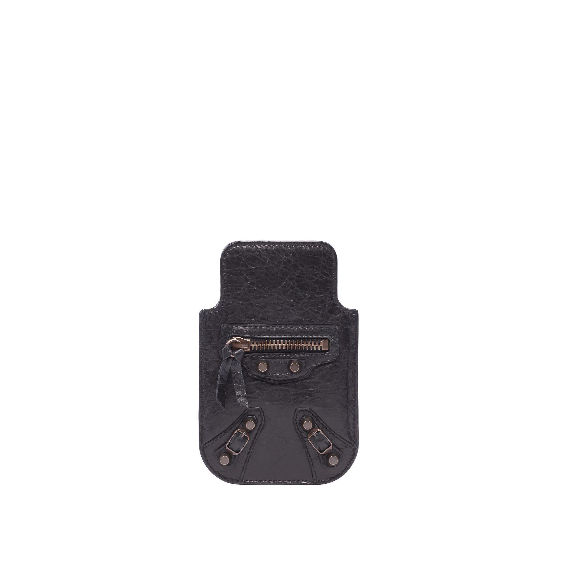 BALENCIAGA Balenciaga Classic Smart Phone Pouch Tech accessories D f