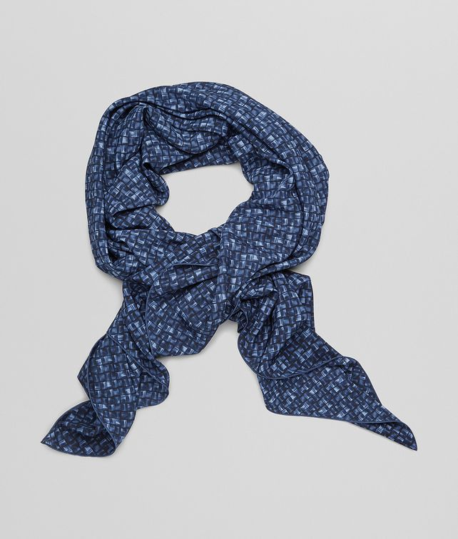 BOTTEGA VENETA FOULARD MIDNIGHT BLUE IN SETA Sciarpa o altro accessorio D fp