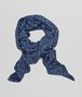 BOTTEGA VENETA MIDNIGHT BLUE SILK   FOULARD Scarf or other D fp