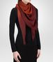 BOTTEGA VENETA SIENNA BORDEAUX WOOL SCARF Scarf or other D rp