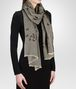 BOTTEGA VENETA Flannel Dark Brown Cashmere Scarf Scarf or other D rp
