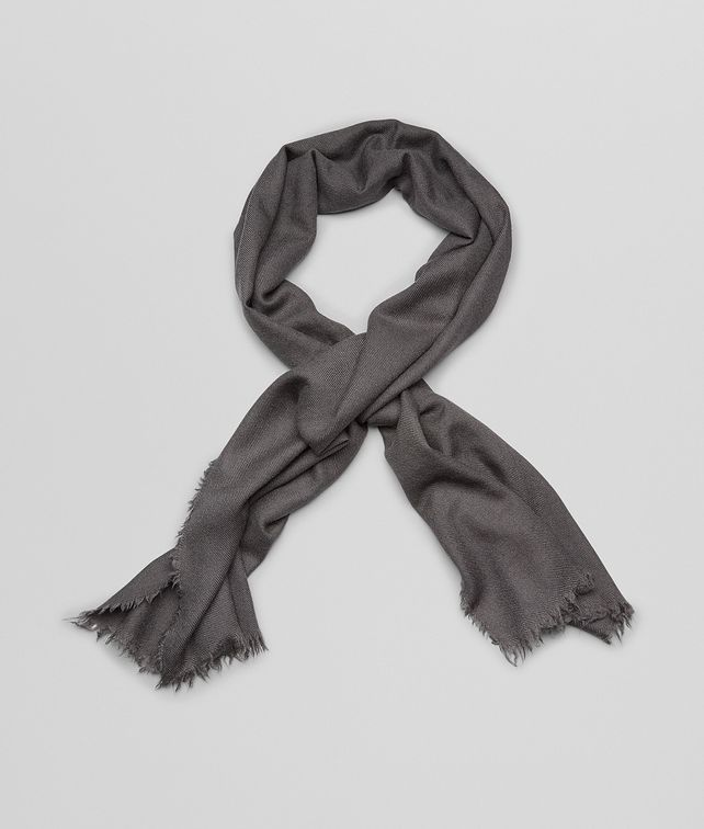 BOTTEGA VENETA SCARF IN ANTHRACITE CASHMERE Scarf or other D fp