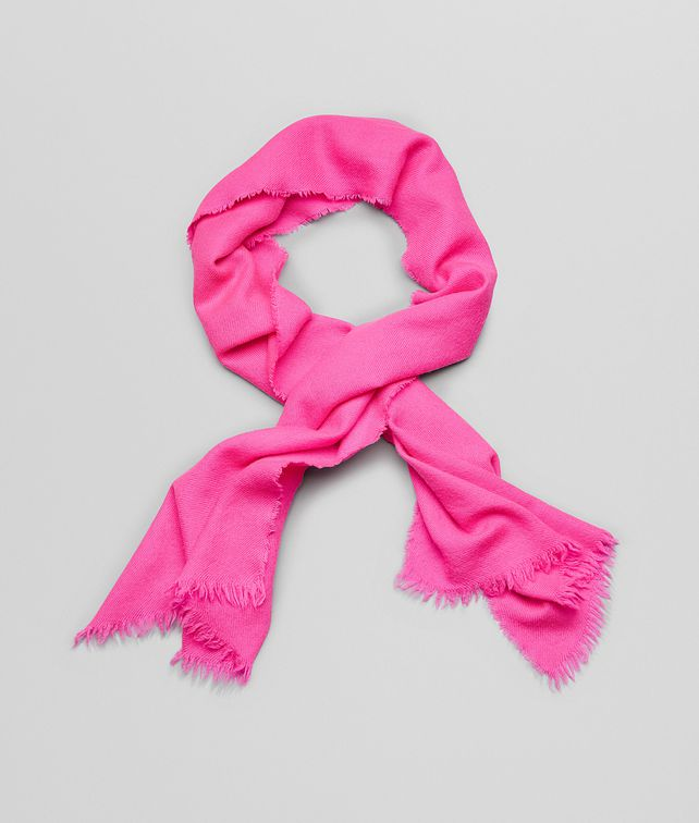 BOTTEGA VENETA SCARF IN MAGENTA CASHMERE Scarf or other D fp