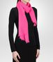 BOTTEGA VENETA SCARF IN MAGENTA CASHMERE  Scarf or other D rp