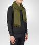 BOTTEGA VENETA Olive Cashmere Silk Scarf Scarf or Hat or Glove U rp