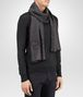 BOTTEGA VENETA SCARF IN ANTHRACITE BLACK CASHMERE WOOL SILK Scarf or other E rp