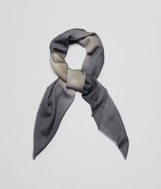 サンド ブラック ウール スカーフ