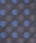 BOTTEGA VENETA Black Blue Silk Tie Tie U ap