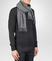 BOTTEGA VENETA Anthracite Dark Grey Wool Cashmere Scarf   Scarf or Hat or Glove U rp