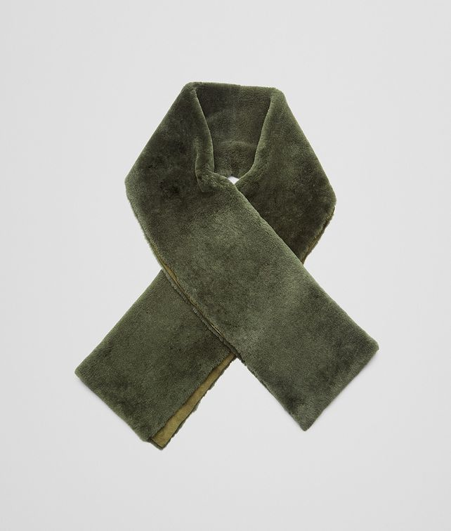 BOTTEGA VENETA Sergeant Lambskin Shearling Scarf Scarf or Hat or Glove U fp
