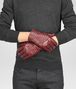 BOTTEGA VENETA Aubergine Intrecciato Soft Nappa Gloves Scarf or Hat or Glove U rp