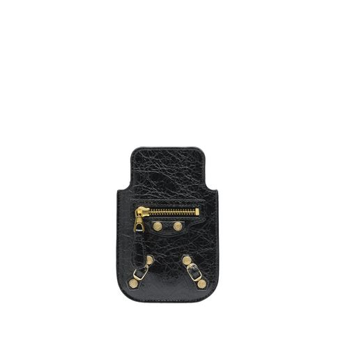 BALENCIAGA Tech accessories D Balenciaga Giant Gold Smart Phone Pouch f