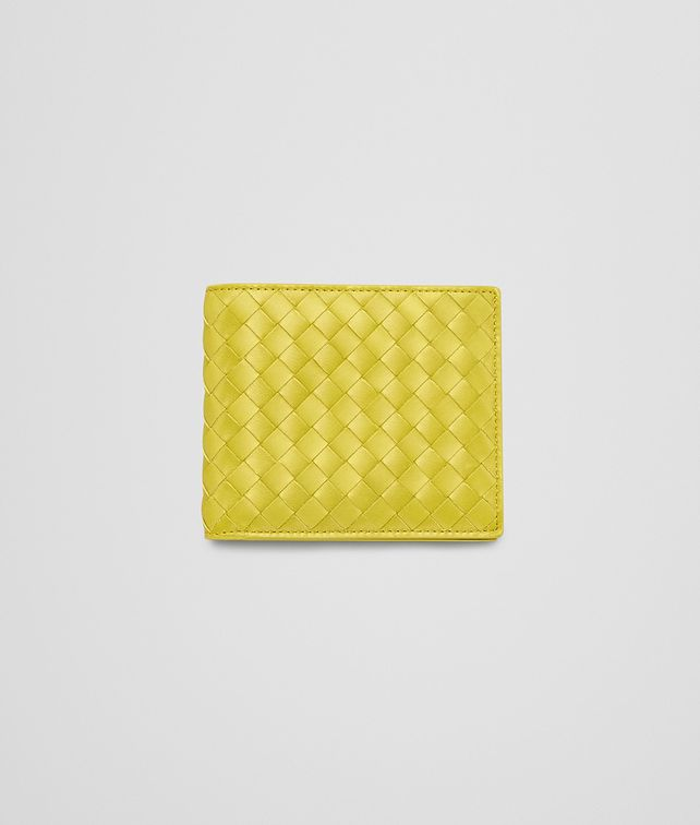 BOTTEGA VENETA New Chartreuse Intrecciato Vn Wallet Bi-fold Wallet U fp