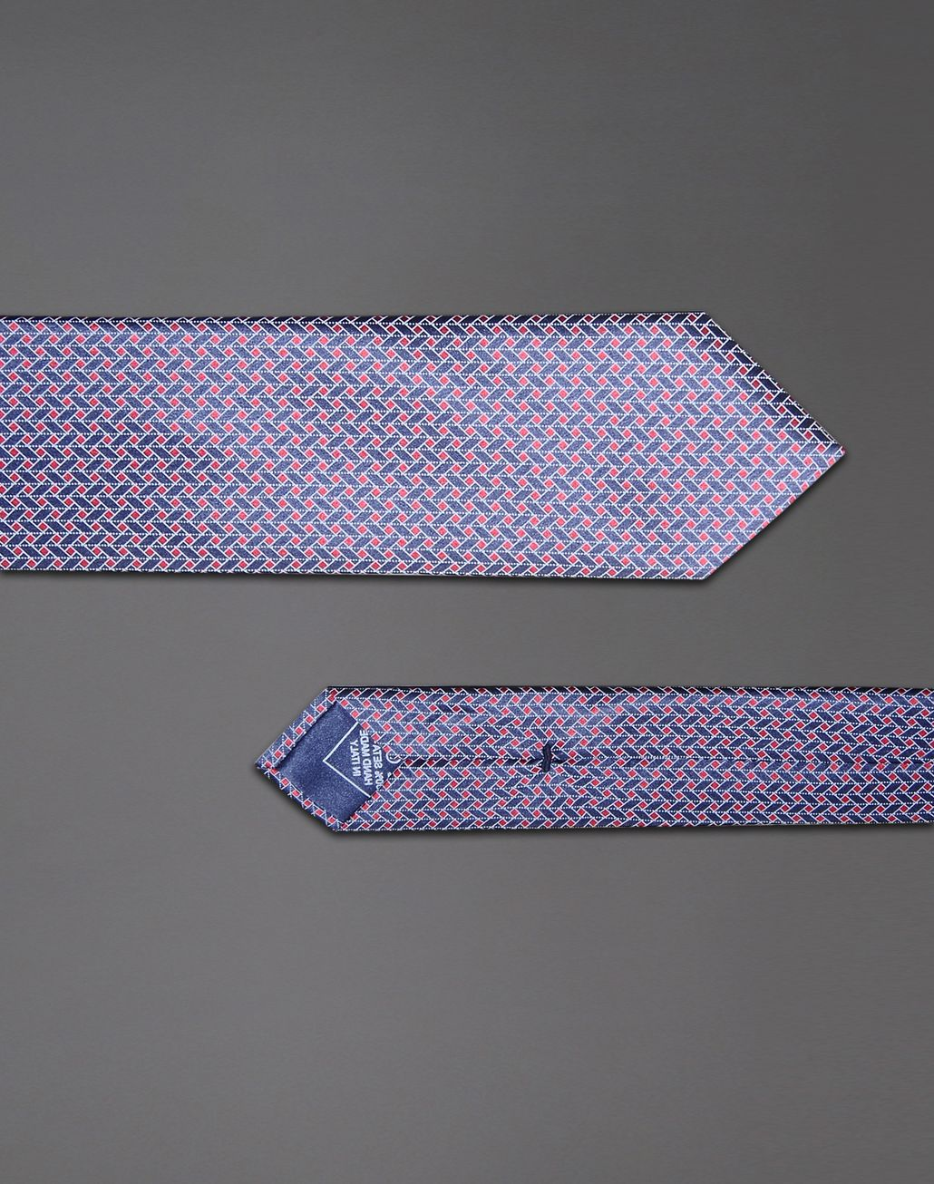 BRIONI tie with geometric design Tie & Pocket Square Man d