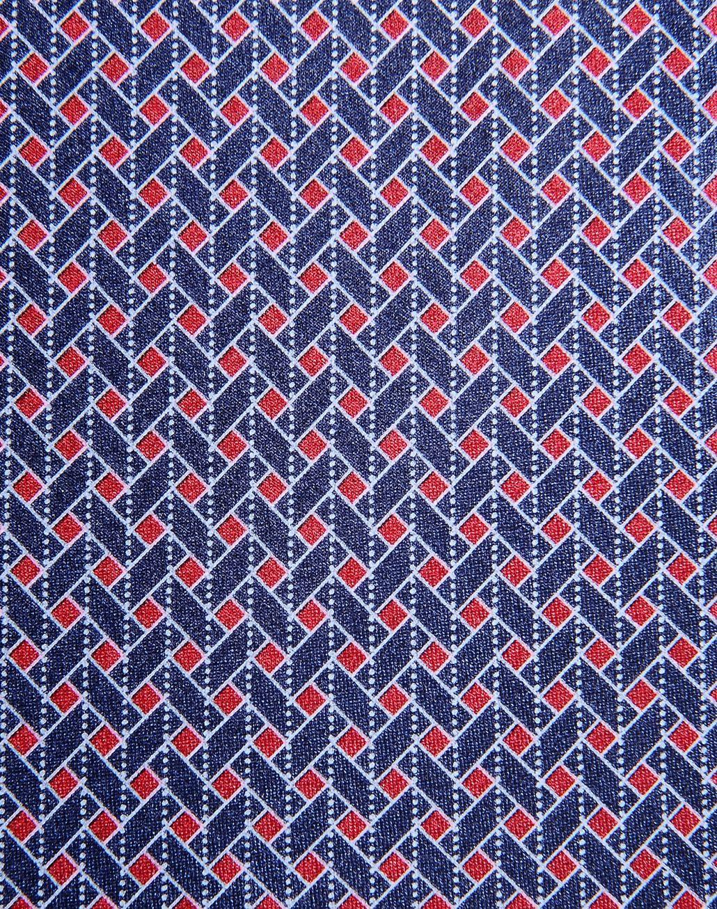 BRIONI tie with geometric design Tie & Pocket Square Man e