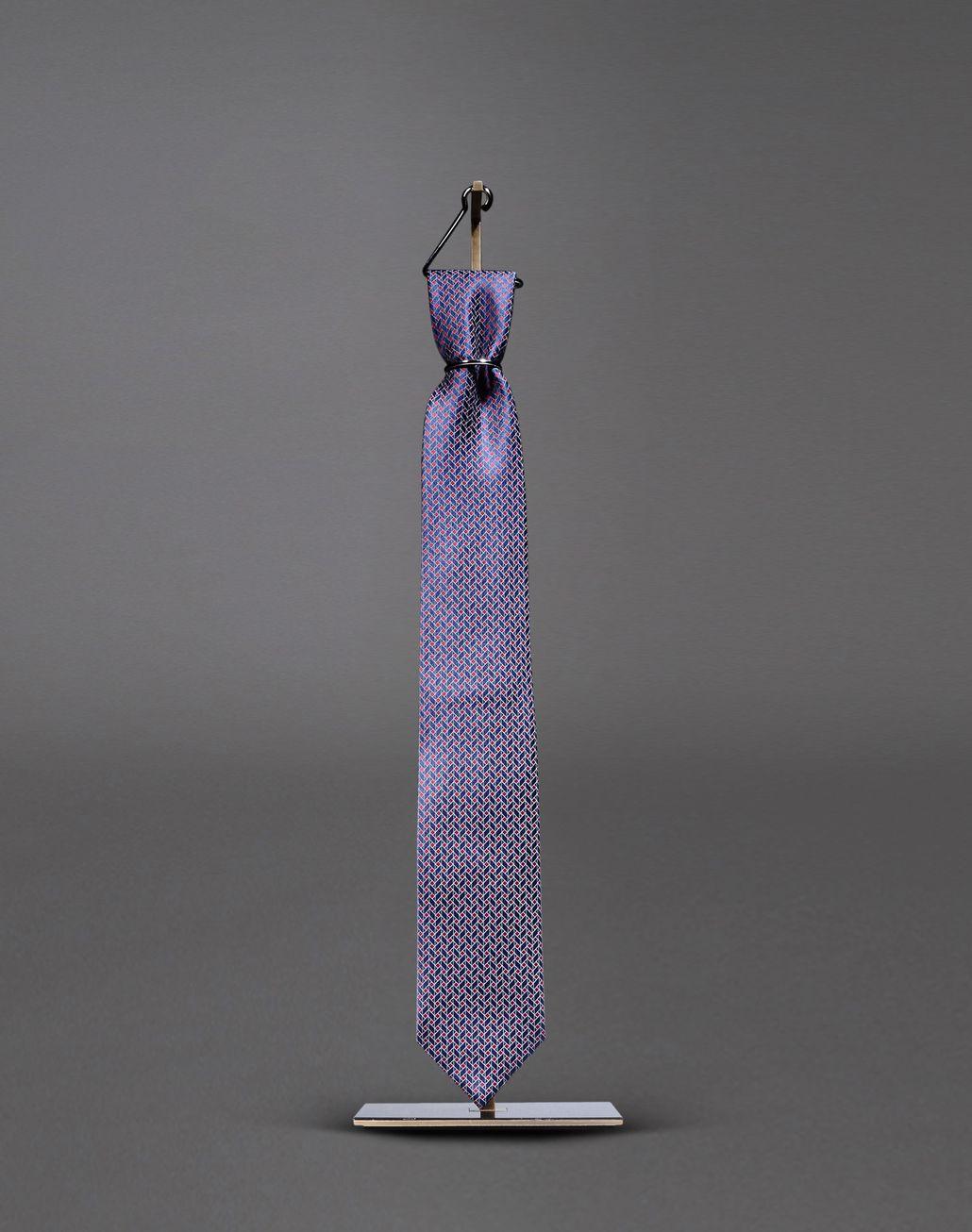 BRIONI tie with geometric design Tie & Pocket Square Man f