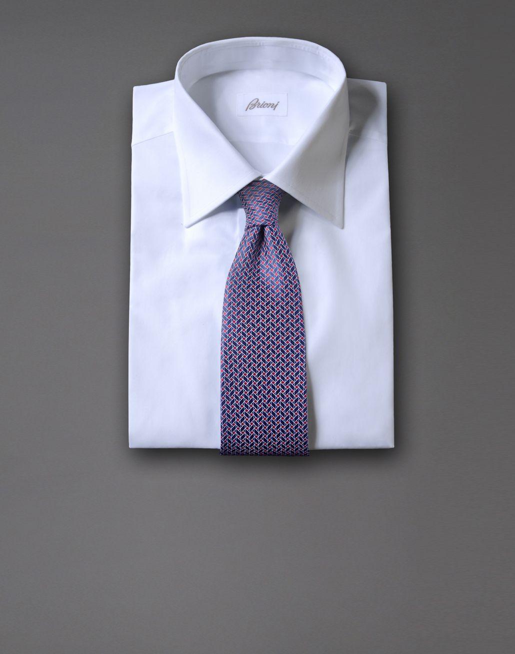 BRIONI tie with geometric design Tie & Pocket Square Man r