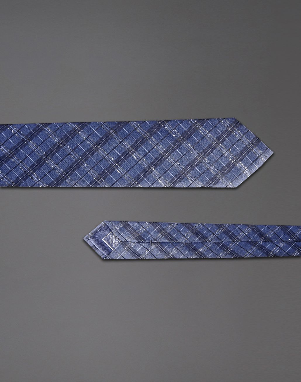 BRIONI macro-check tie Tie & Pocket Square Man d