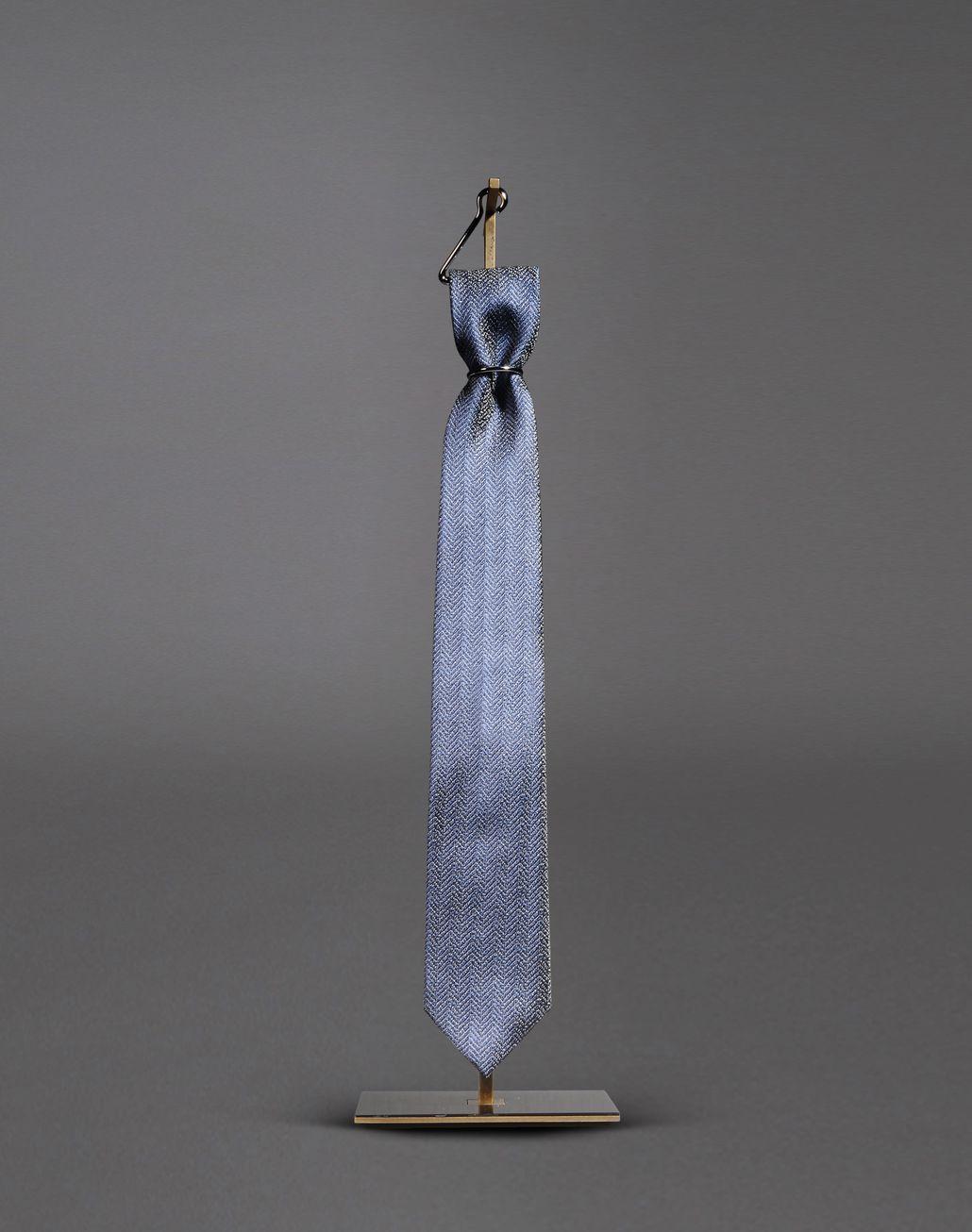BRIONI tie with micro design Tie & Pocket Square Man f